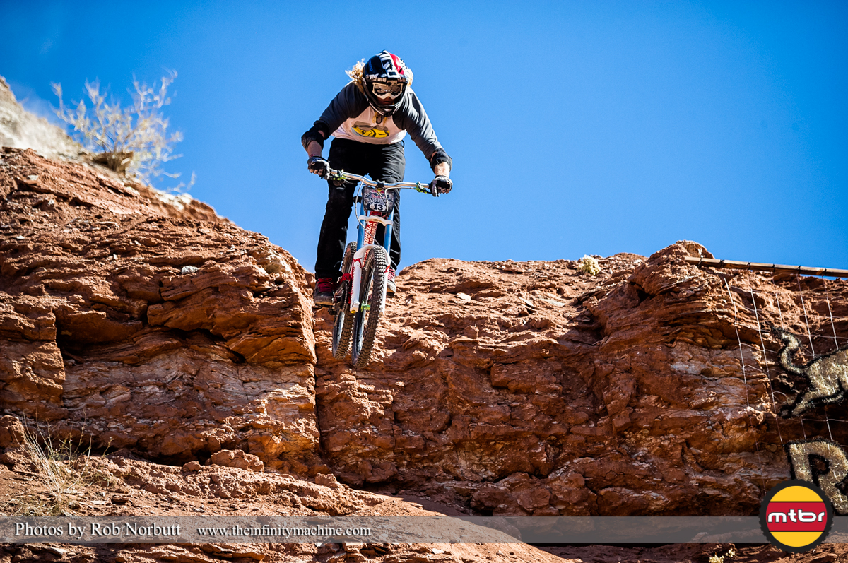 Kelly McGarry - Redbull Rampage Qualifying 2013