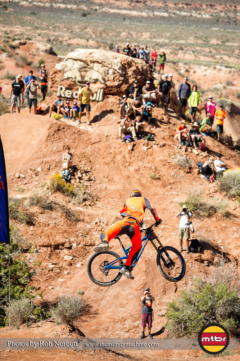 Brandon Fairclough - Redbull Rampage Qualifying 2013