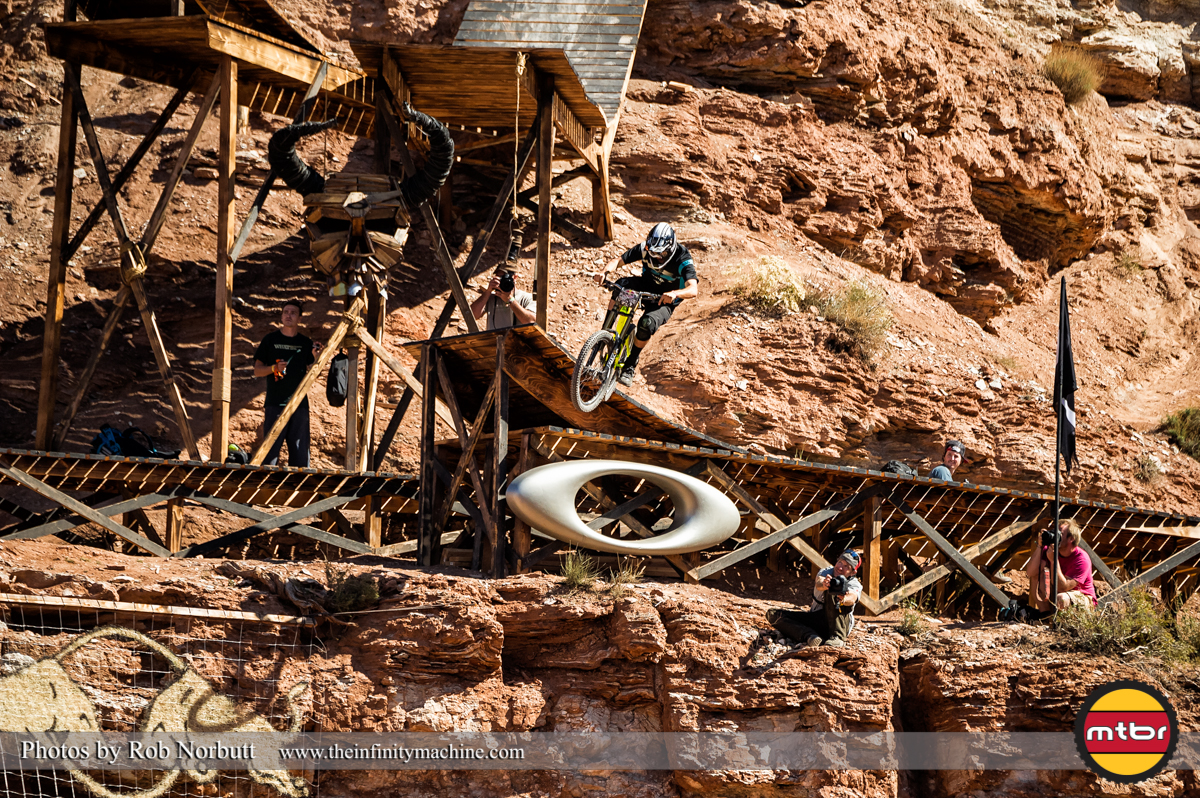 Brendan Howey On the Sender - Redbull Rampage Qualifying 2013