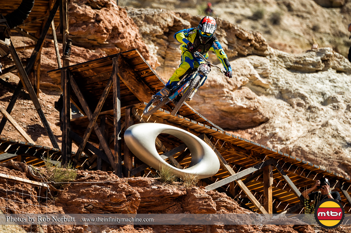 Nico Vink Sends the Sender - Redbull Rampage Qualifying 2013