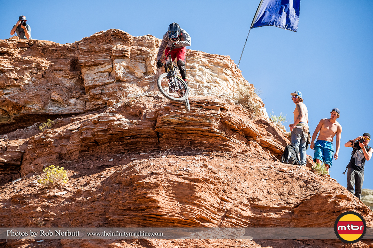 Mitch Chubey - Redbull Rampage Qualifying 2013