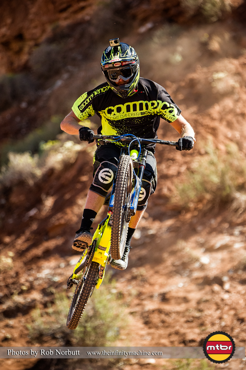 Mike Hopkins - Redbull Rampage Qualifying 2013