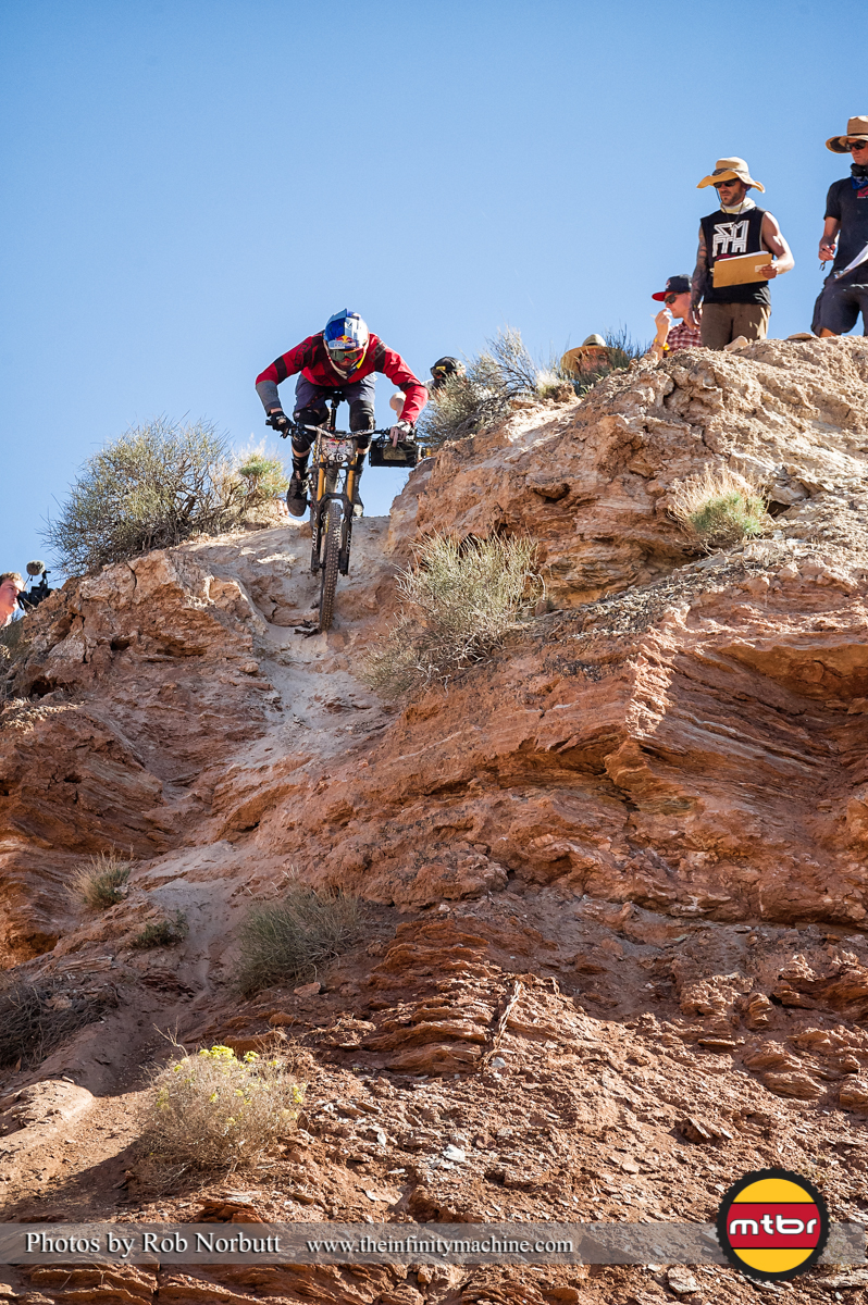 Thomas Genon Billygoat Line - Redbull Rampage Qualifying 2013