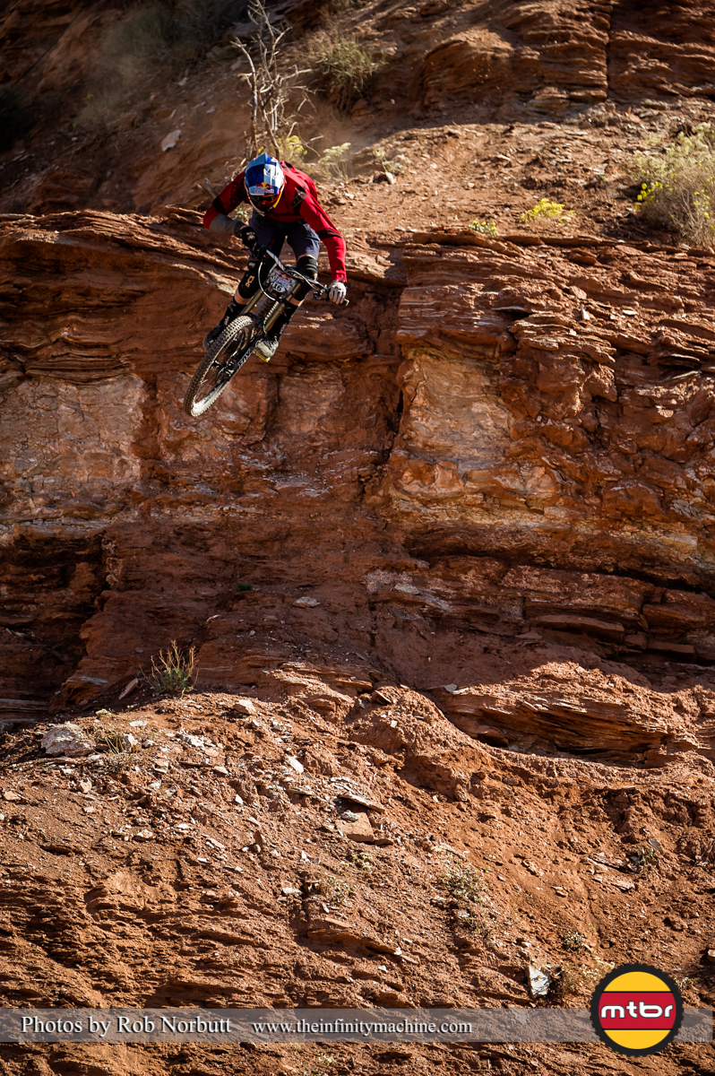 Thomas Genon Drop - Redbull Rampage Qualifying 2013