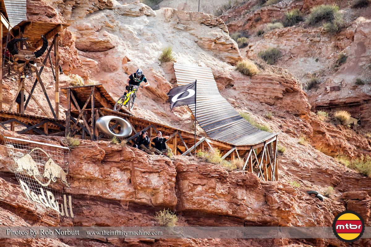 Bendon Howey Styling the Sender Drop - Redbull Rampage 2013 Finals