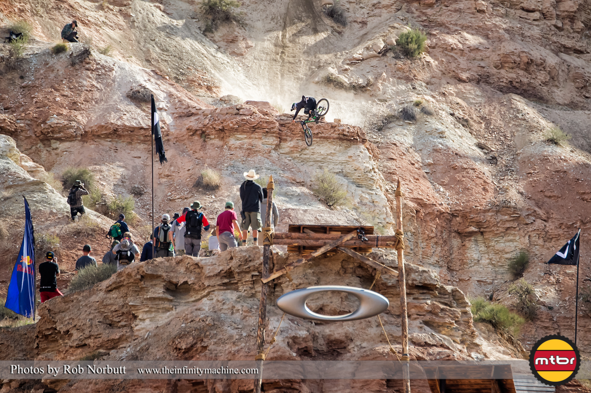 Graham Agassiz 360 Cork Above the Sender - Redbull Rampage 2013 Finals