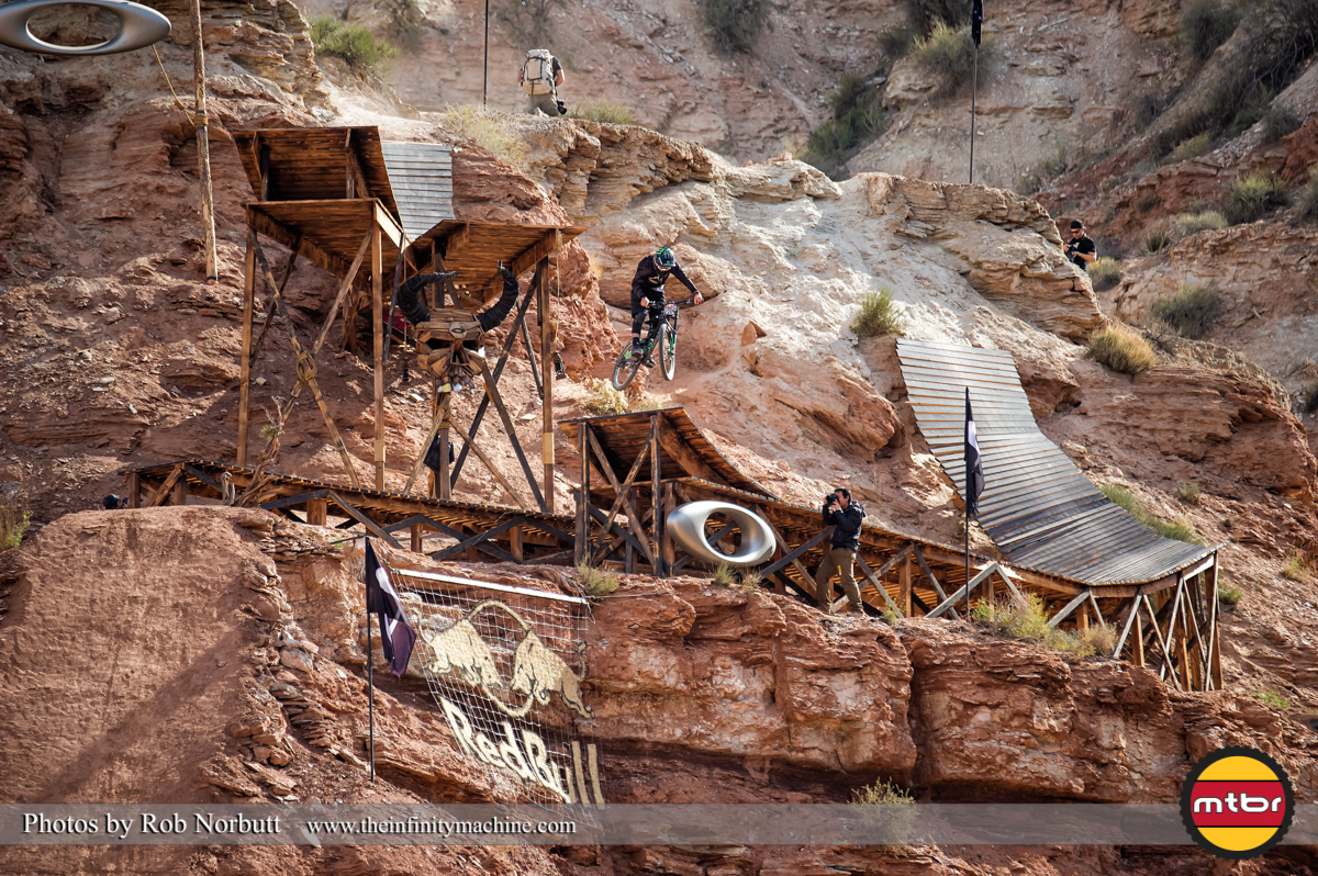 Graham Agassiz On the Oakley Sender - Redbull Rampage 2013 Finals