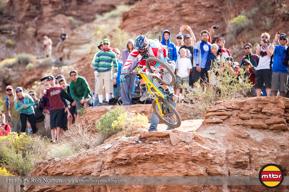 Geoff Gulevich Table - Redbull Rampage 2013 Finals