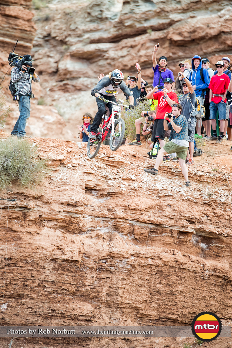 Committed - Kelly McGarry - Redbull Rampage 2013 Finals