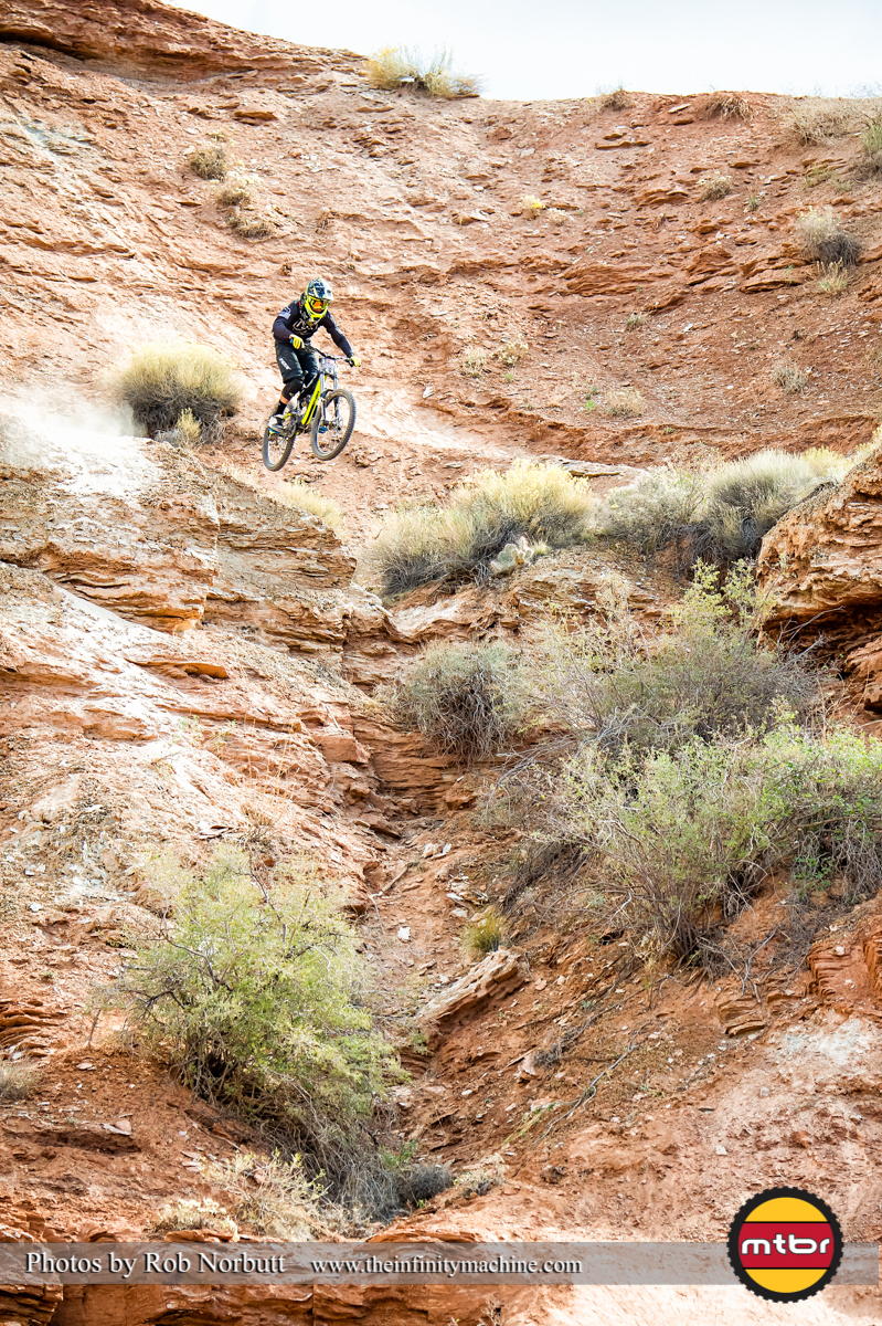Huge Stepdown by Tyler McCaul - Redbull Rampage 2013 Finals