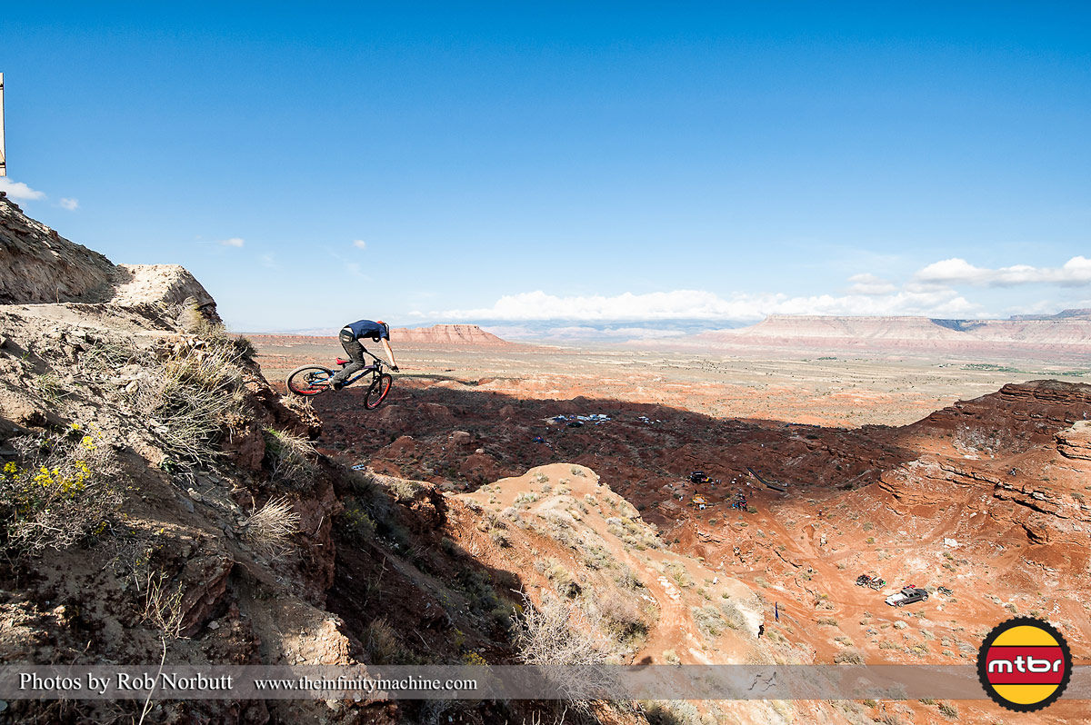 Ryan Howard - Red Bull Rampage 2013 Practice - Photo by Rob Norbutt