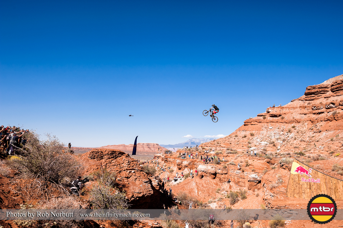 Ramon Hunziker Canyon Gap - Redbull Rampage Qualifying 2013
