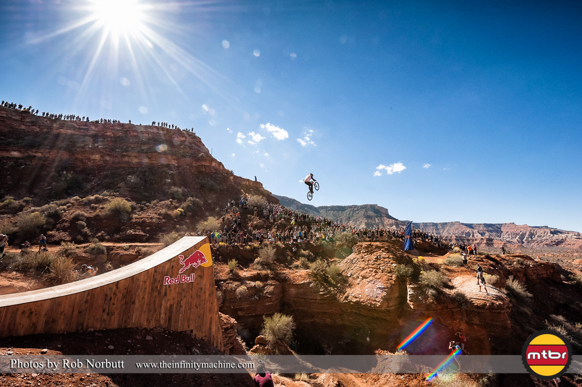 Kelly McGarry Canyon Gap - Redbull Rampage Qualifying 2013