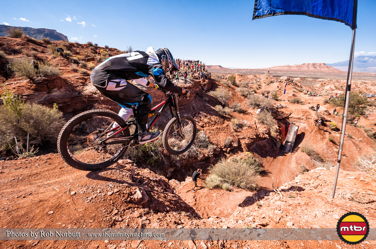 Mike Montgomery - Redbull Rampage Qualifying 2013