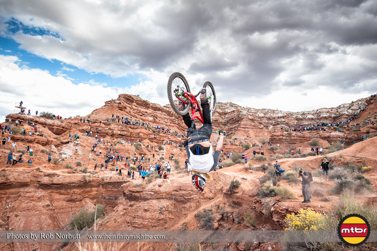 Kelly McGarry Backflip - Redbull Rampage 2013 Finals
