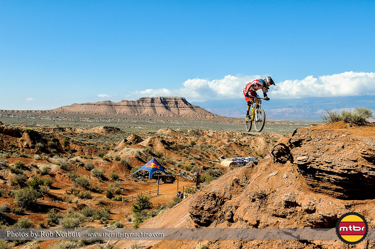 Geoff Gulevich 360 - Red Bull Rampage 2013 Practice - Photo by Rob Norbutt