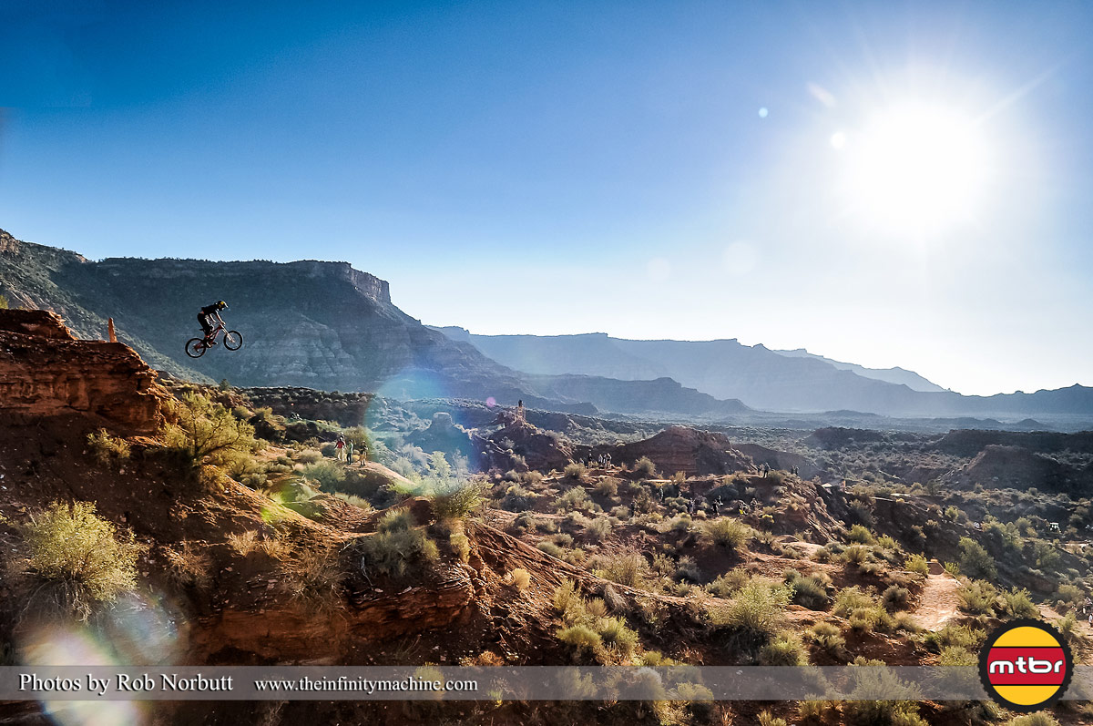 Andreu Lacondeguy - Red Bull Rampage 2013 Practice - Photo by Rob Norbutt