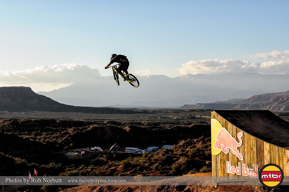 Huge Air - Red Bull Rampage 2013 Practice - Photo by Rob Norbutt