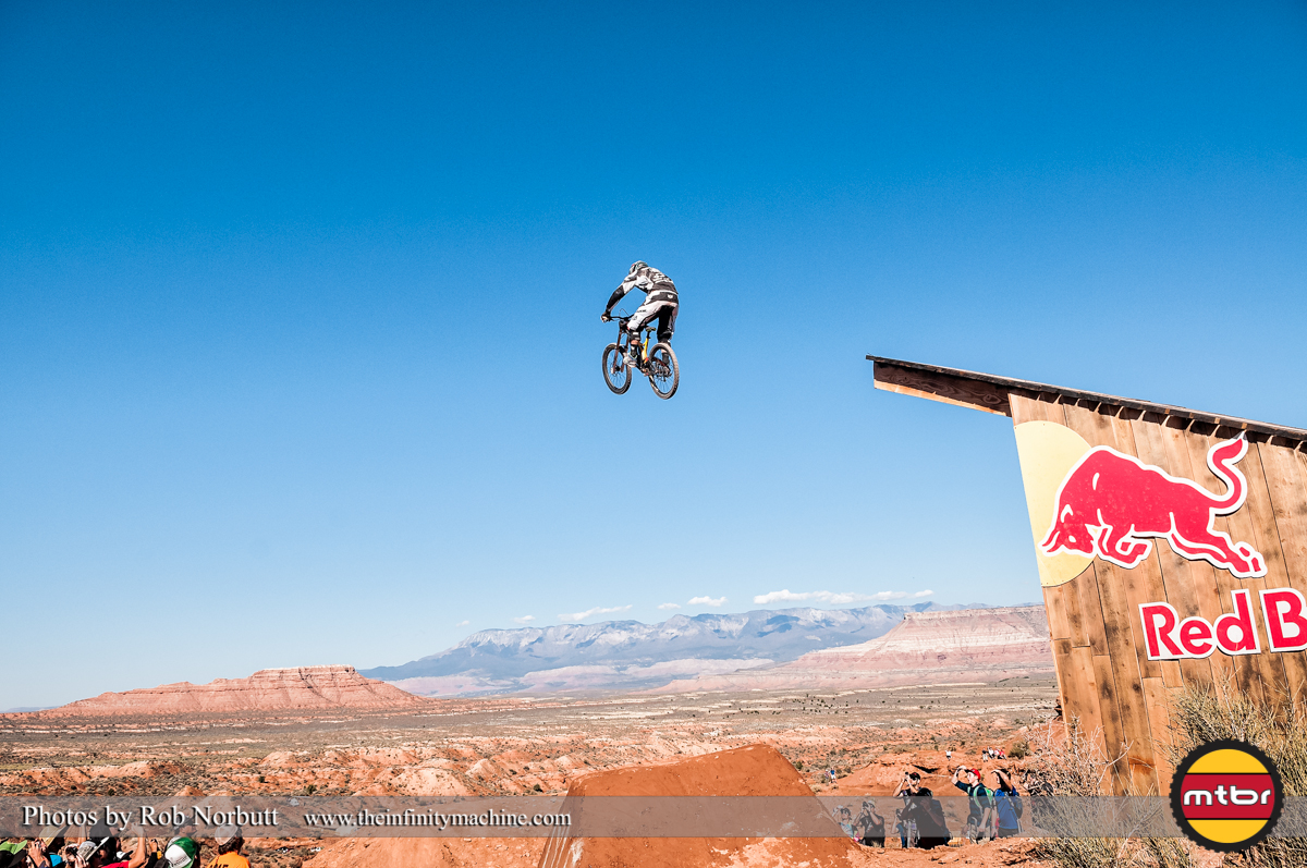 Chris Van Dine Goes Huge - Redbull Rampage Qualifying 2013