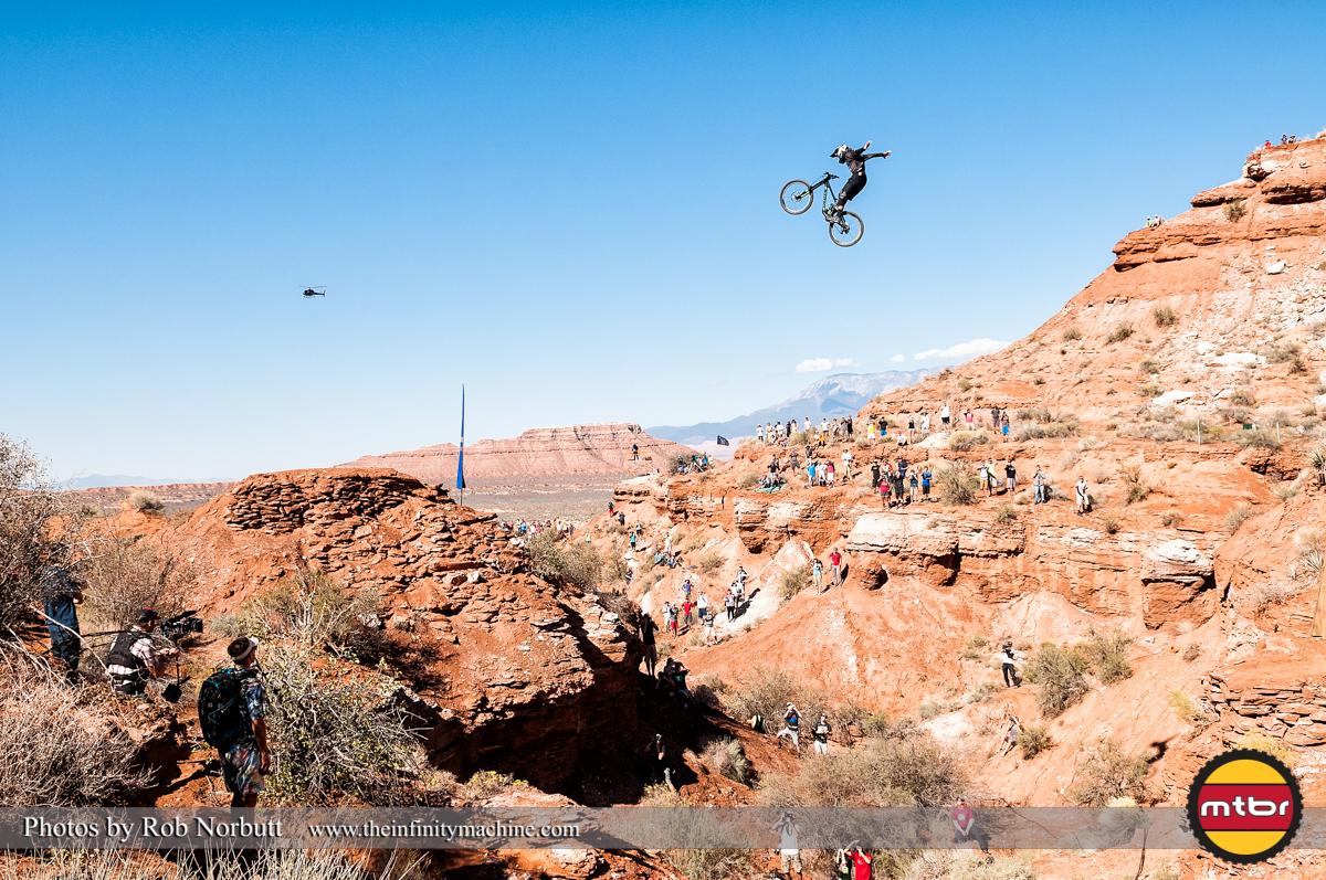 Graham Agassiz Canyon Gap Suicide No-Hander - Redbull Rampage Qualifying 2013