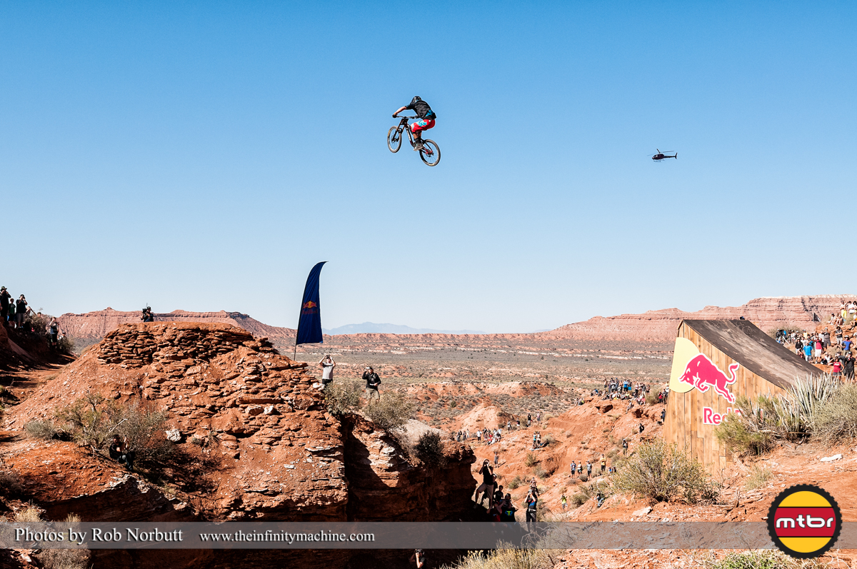 Ramon Hunziker Canyon Gap - Redbull Rampage Qualifying 2013