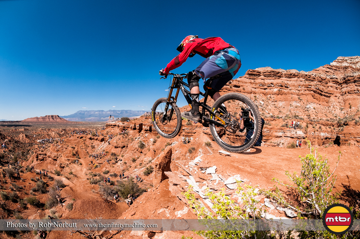 Third Qualifier Thomas Genon - Redbull Rampage Qualifying 2013