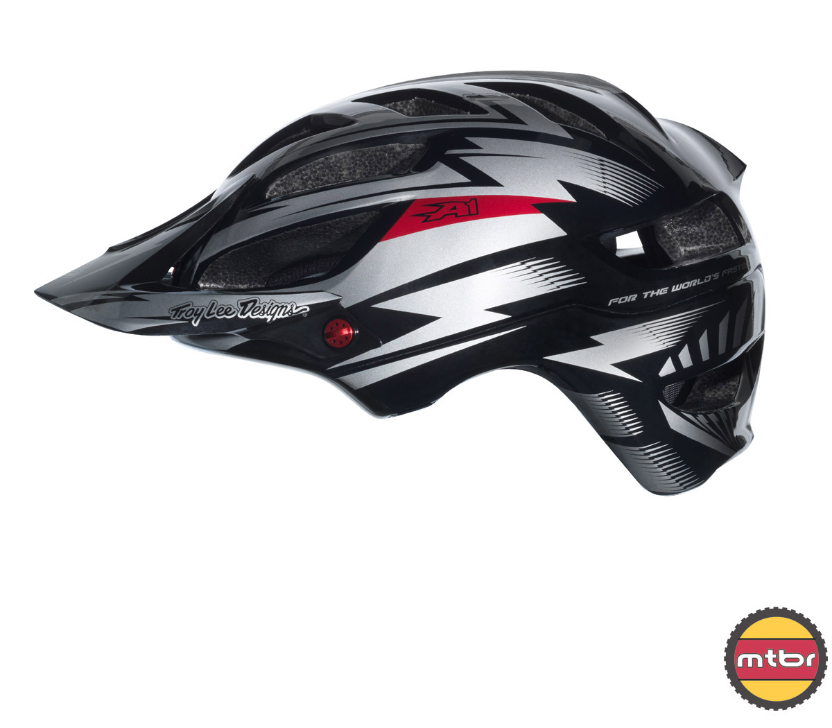 Troy Lee Designs - A1 All Mountain helmet black-left