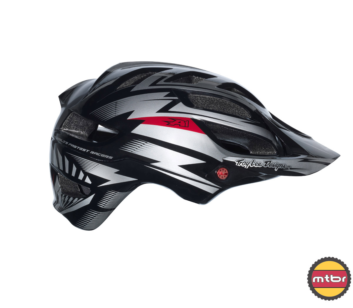 Troy Lee Designs - A1 All Mountain helmet -black-right