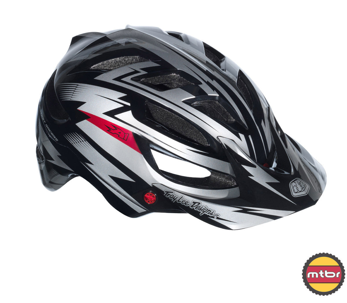 Troy Lee Designs - A1 All Mountain helmet black-rightfront