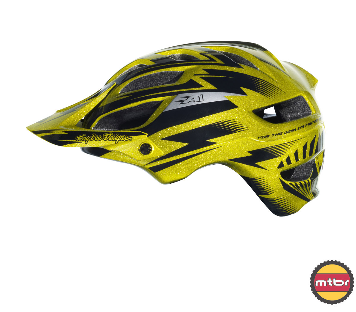 Troy Lee Designs - A1 All Mountain helmet -gold-left