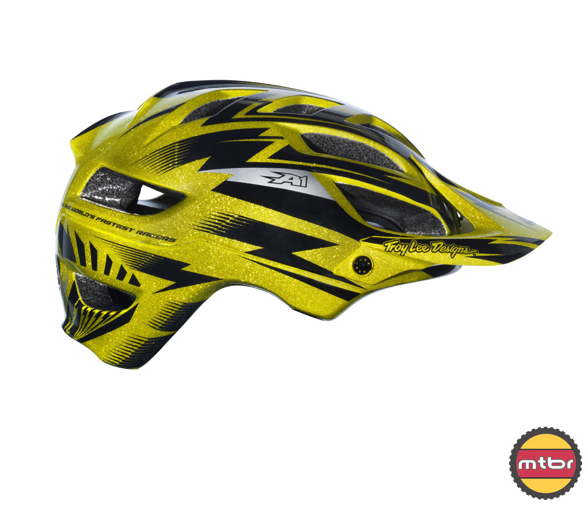 Troy Lee Designs - A1 All Mountain helmet gold-right