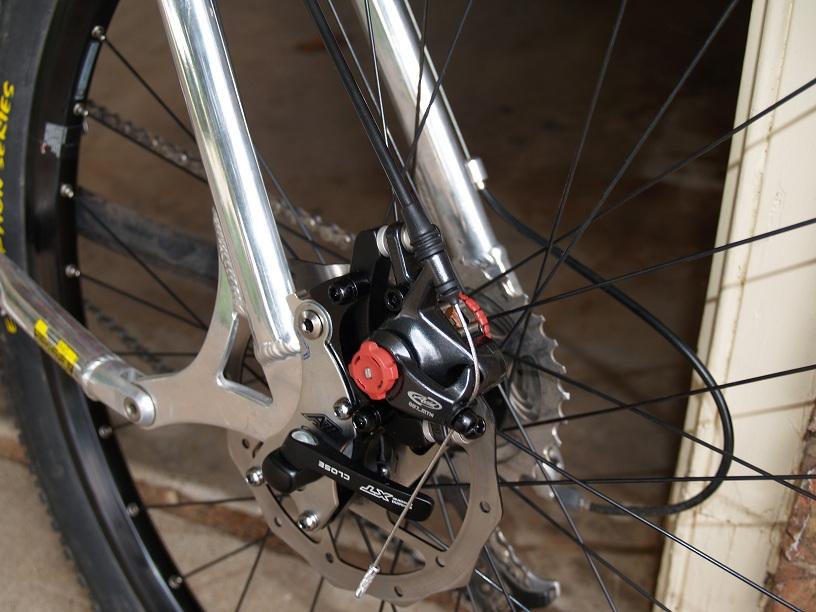 Bike Frame Conversion Kit Bicycle Disc Brake Adaptor Bracket Mountain Holder MTB