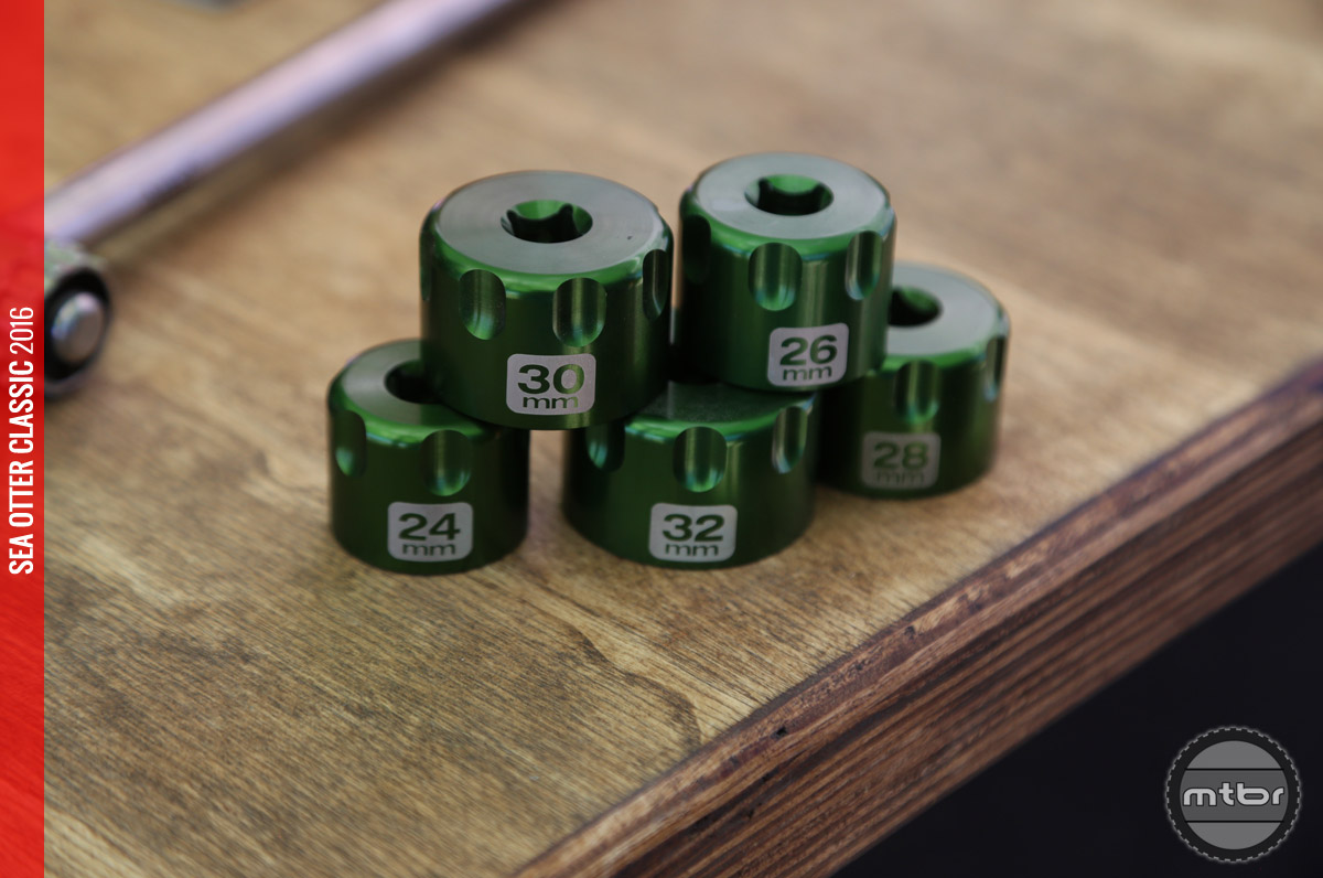 The Abbey Suspension Sockets are only available in a set of five (24, 26, 28, 30, and 32), but they're working on releasing manufacturer specific sets.