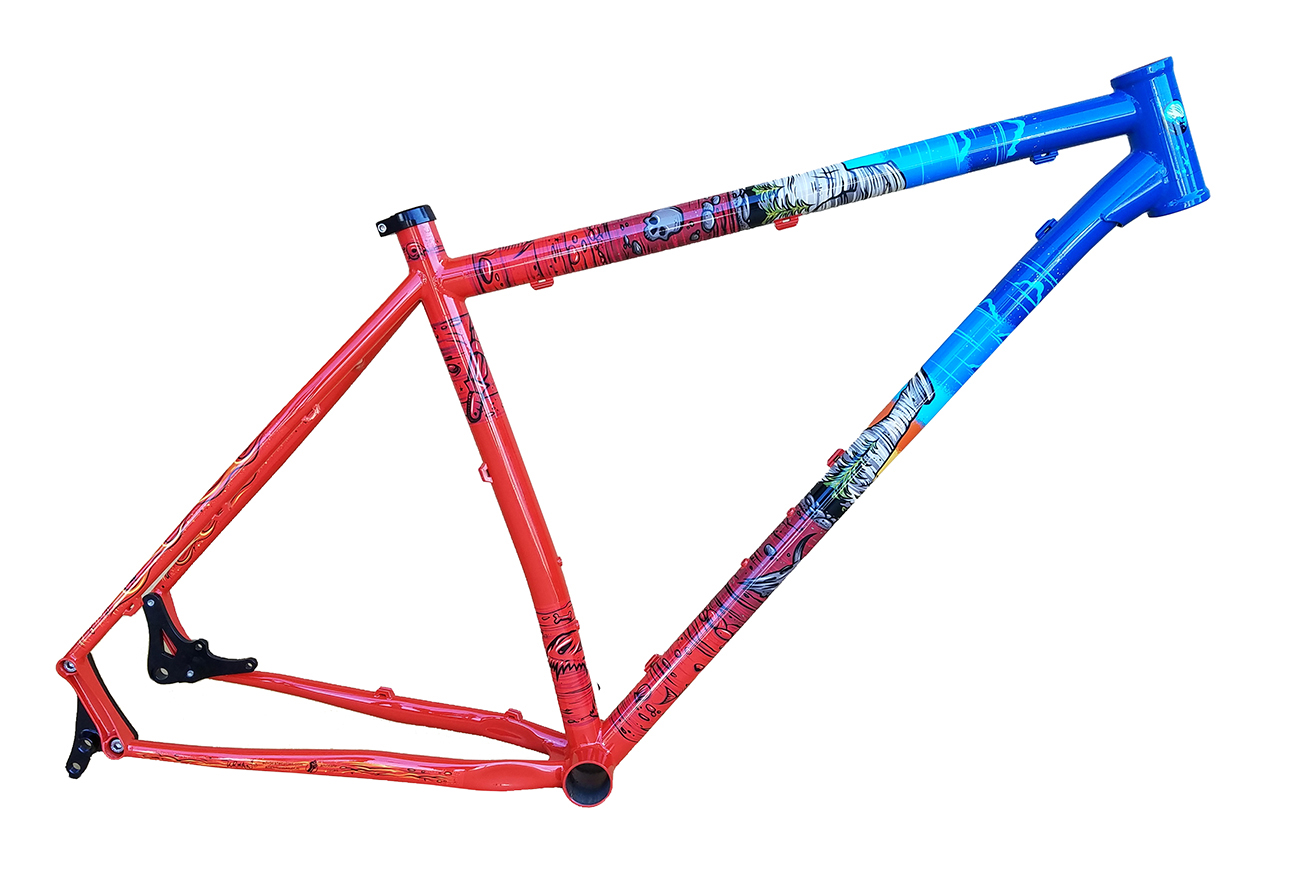 Minneapolis-based Advocate Cycles just announced that it's donating to IMBA 100% of after-tax profits from sales of specially painted limited edition Hayduke frames. These 30 frames will be sold  through Advocate Cycle's dealer and direct sales channels for $800. Each purchase will include a free 1-year membership to IMBA, with  the entire purchase price going to IMBA's Dig In Campaign.