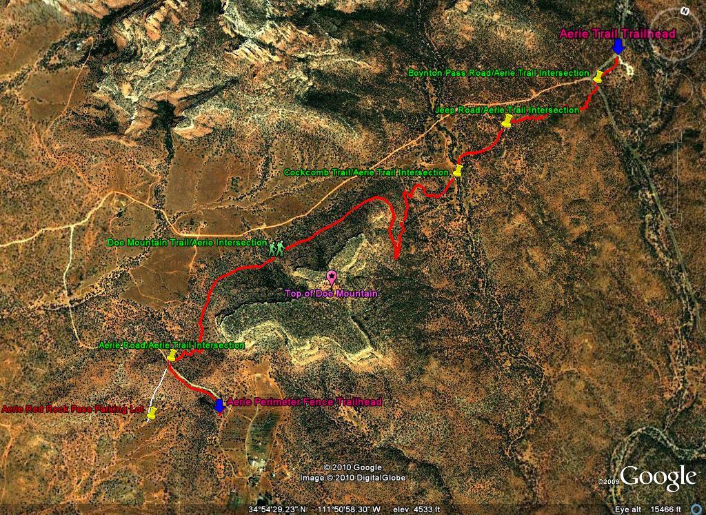 New Sedona Mountain Bike Trail Built Soely by Mountain Bikers-aerie-trail-8-29-10.jpg