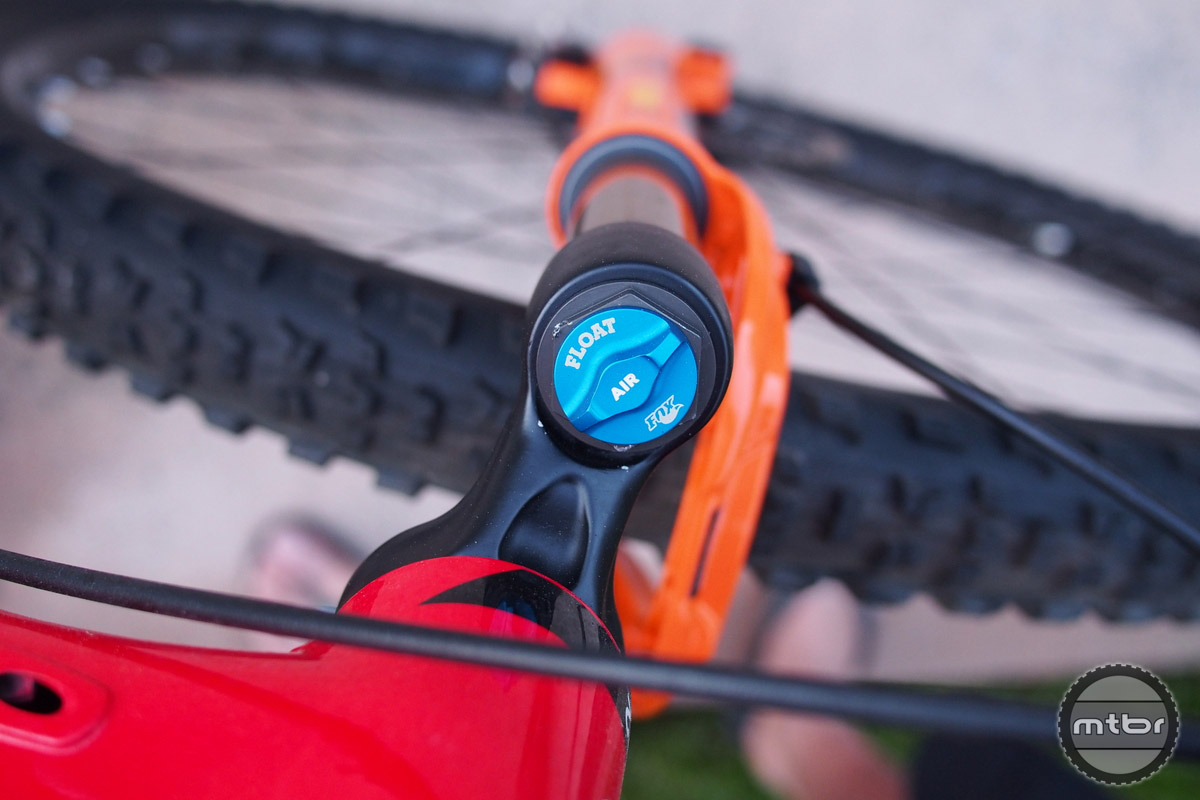 The Fit4 damper is FOX's crowning achievement for simple yet adjustable damping.