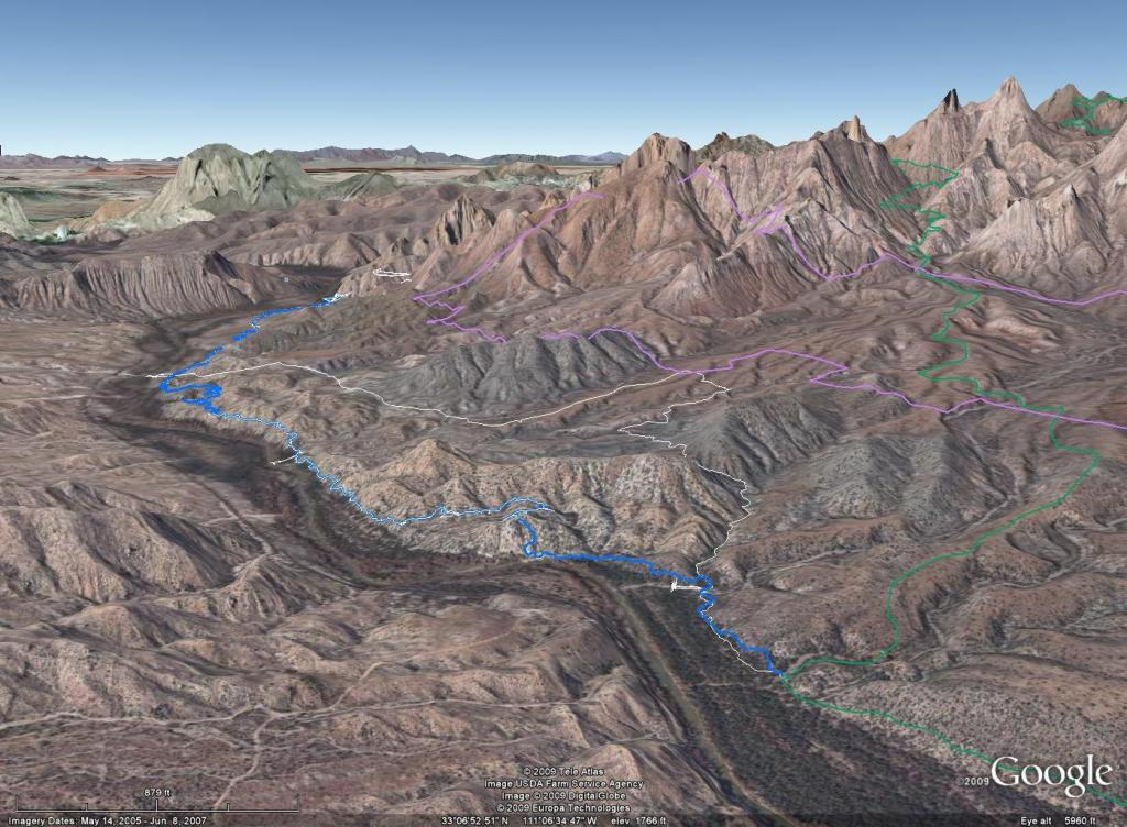 Picketpost ride: 11/26-airphoto-1-view-west-over-gila-river.jpg