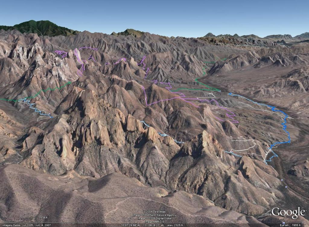 Picketpost ride: 11/26-airphoto-3-view-east-over-gila-river.jpg