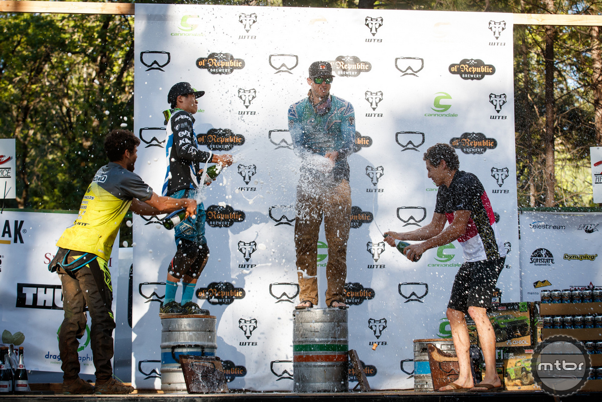 Men's podium - Photo by Jeremiah Newman