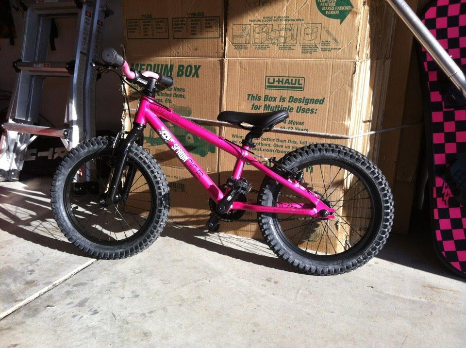 """06517ad9402 Review of the Spawn Cycles Banshee (16"""" wheeled bike)-alauras-banshee"""
