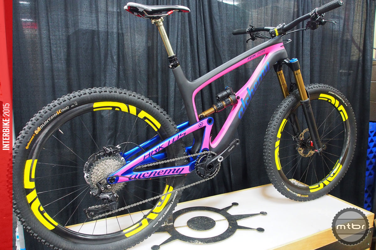 Frame and shock will sell for $3750.