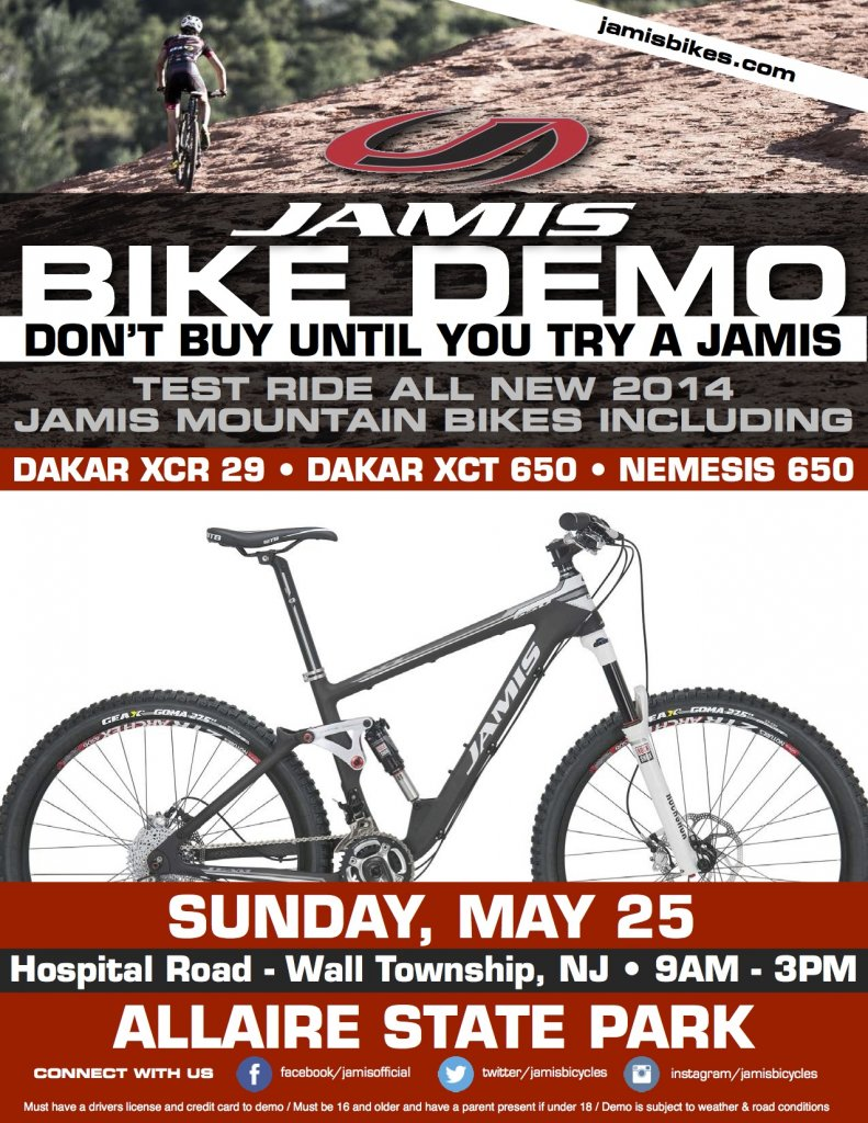 Jamis Bikes MTB Demo @ Six Mile Run and Allaire State Park-allaire-state-park-mtn-demo.jpg
