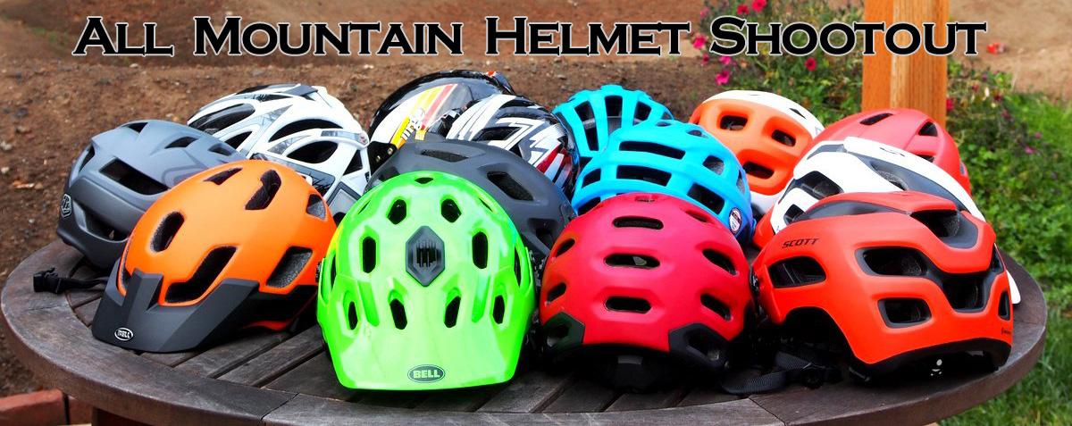 All Mountain / Enduro Helmet Shootout AllMtnHelmet