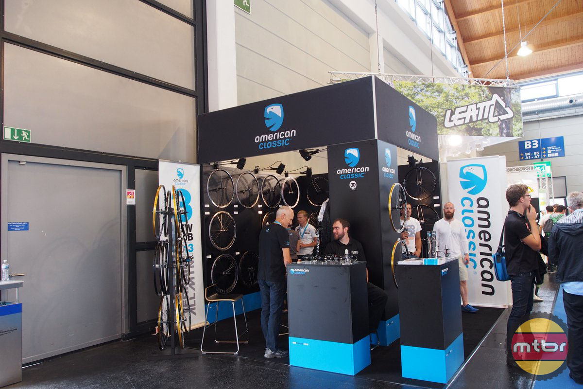 American Classic was at Eurobike too with a great booth.
