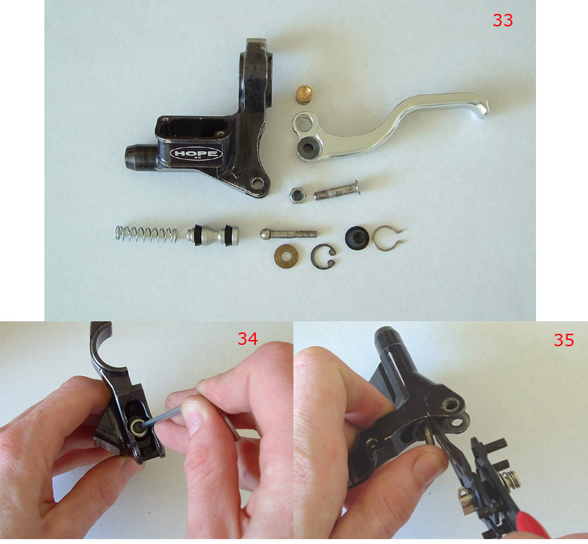 Hope Master Cylinder Seal Kit for Mini 07//Race