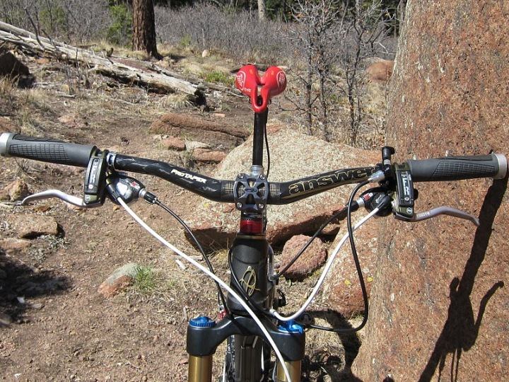 Answer Products Protaper Carbon 720 Am Bars And Rove Am