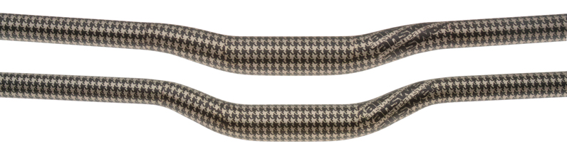 Answer Custom Brown Houndstooth - close-up
