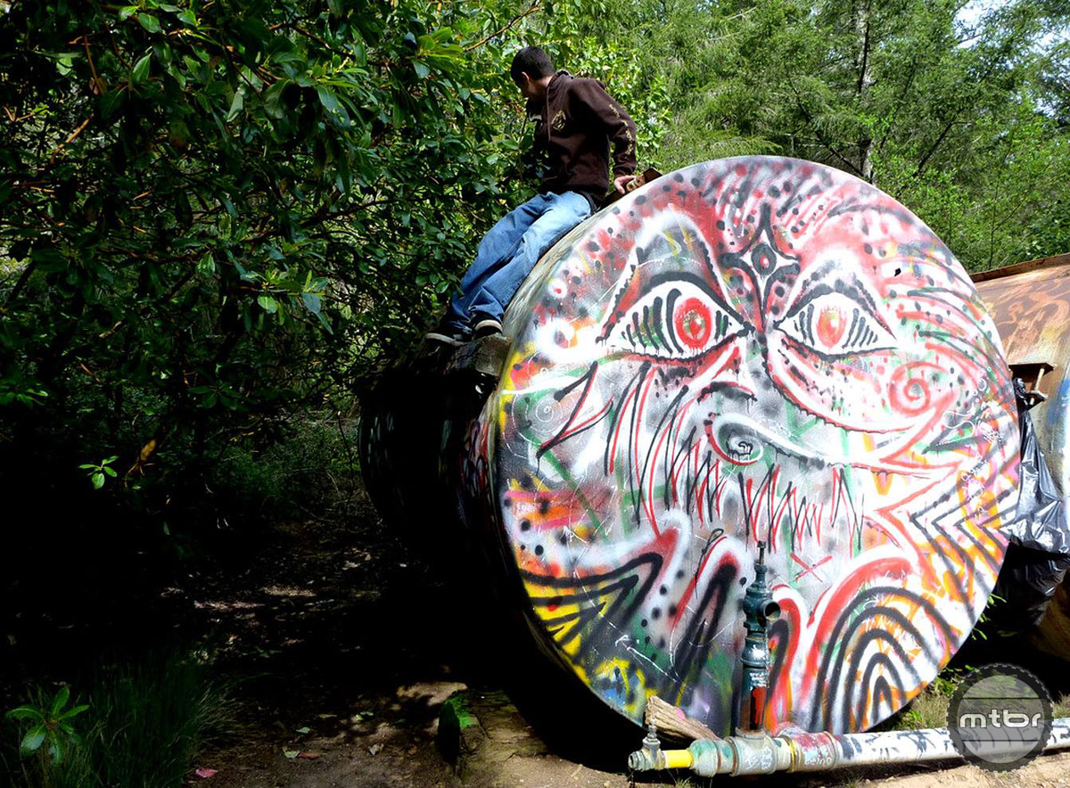 April 2010 UC Santa Cruz Tanks