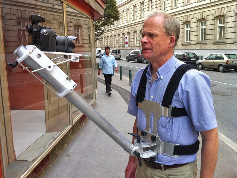 Narcissistic camera mount