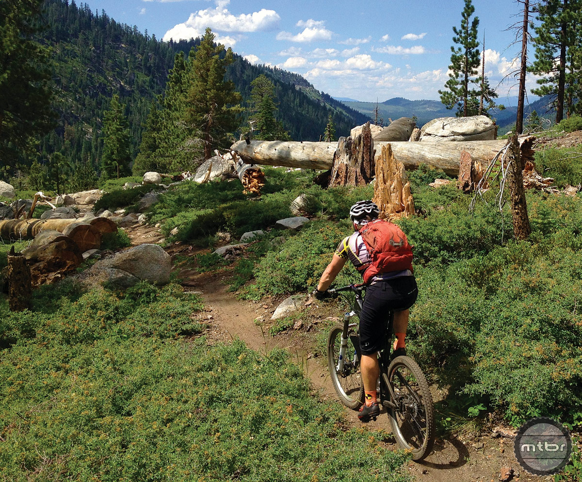 California's Armstrong to Strawberry Trail. Photo courtesy IMBA